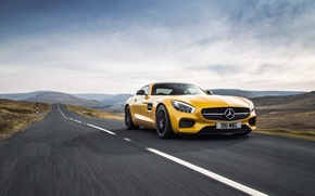 Picture Mercedes, Mercedes, AMG, AMG, UK-spec, 2015, GT S, C190