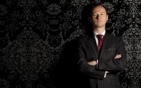 Wallpaper the series, sherlock bbc, serial, Sherlock, Mark Gatiss, Mark Gatiss, Mycroft Holmes, Mycroft Holmes