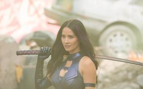 Wallpaper weapons, X-Men: Apocalypse, Psylocke, X-Men Apocalypse, Olivia Munn