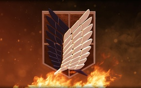 Wallpaper For th Glory of Humanity, wallpaper, fire, japanese, fog, Shingeki no Kyojin, team, Attack on ...