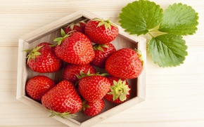 Wallpaper strawberry, red, ripe, red, berries, berries, sweet, fresh, strawberry