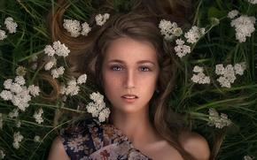 Picture freckles, the beauty, peer, Katie Melman