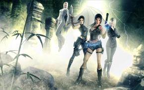 Picture Lara Croft, Tomb Raider: Underworld, Amanda Evert, Jacqueline Natla