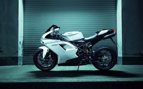 Picture Race, Ducati, Shooting, Side, Italian, Superbike, Motocycle, 1198, Nigth