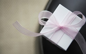 Picture white, pink, gift, tape
