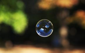 Picture bubble, bubble, soap