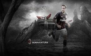 Picture wallpaper, sport, stadium, football, San Siro, player, AC Milan, Giacomo Bonaventura