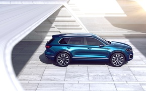 Picture Concept, Volkswagen, the concept, Volkswagen, crossover, GTE, T-Prime