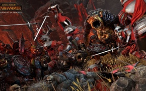 Picture fantasy, battle, fantasy, the battle, swords, warhammer, orcs, total war, strategy, orcs, Warhammer, strategy, Troll, …