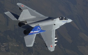 Picture The MiG-35, In the air, Fulcrum-F, THE RUSSIAN AIR FORCE, OKB Mikoyan
