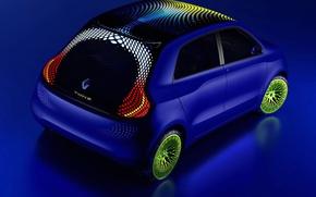 Wallpaper Renault, TwinZ, concept