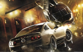 Picture machine, helicopter, Need for Speed, The Run