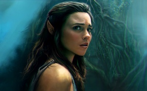 Picture girl, art, Amberle Elessedil, The Shannara Chronicles, Amberle