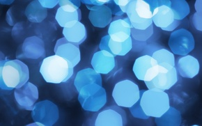 Picture blue, background, bokeh