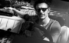Picture machine, glasses, actor, male, guy, james franco
