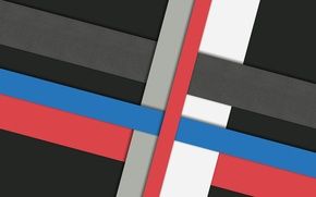 Picture white, line, blue, red, grey, black, design, color, material