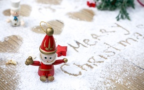 Picture snow, holiday, toys, tree, Christmas, hearts, Christmas, heart, merry, sweets