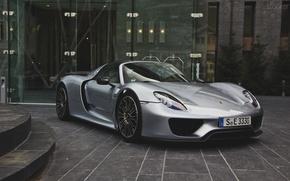 Picture Porsche, 918, spyder, building