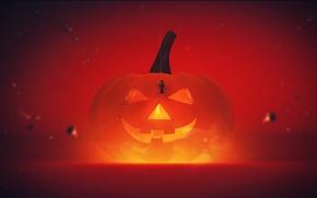 Wallpaper pumpkin, Halloween, Helloween