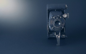 Picture camera, old times, golden age, old camera