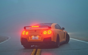 Picture fog, R35, Nissan GTR, brake lights