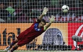 Picture italy, buffon, euro2012, the Olympic stadium Kiev, shining moment