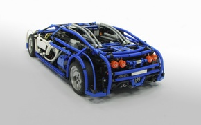 Picture model, veyron, bugatti, lego, 16.4
