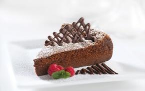 Picture raspberry, food, chocolate, cake, cake, cake, dessert, food, sweet, chocolate, dessert, raspberries