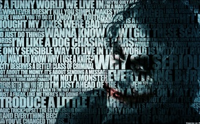 Wallpaper Joker, text, Batman, Batman, quotes, Joker, the inscription