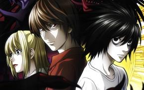 Picture Art, Kira, Death Note, detective, Death note, Kira, Shinigami, Lawliet, REM, shinigami, Ryuk, Ryuk, Misa, …