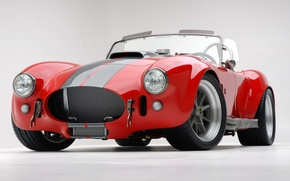 Wallpaper Red, Sport, Cobra