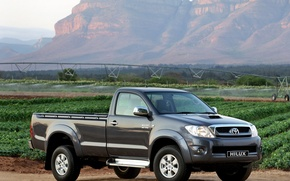 Picture Nature, Field, Mountains, Japan, Wallpaper, Japan, Toyota, Car, Pickup, Auto, Hilux, Wallpapers, Toyota, Hilux, Picup, …