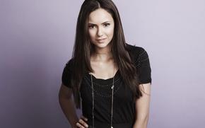 Wallpaper brunette, actress, nina dobrev, Nina Dobrev