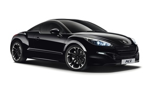 Picture white background, Peugeot, RCZ, Black