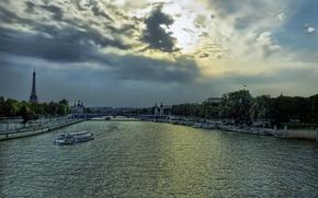 Picture Paris, The evening, Hay