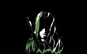 Picture fear, darkness, arrows, hunter, archer, Green arrow