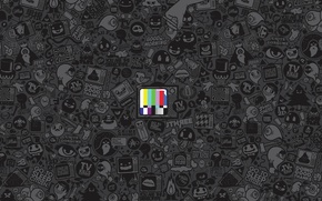 Picture color, TV, icons, setting