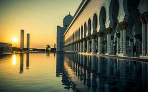 Picture the city, Abu Dhabi, Grand Mosque