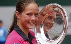 Picture victory, champion, Roland Garros 2014, Junior, Daria Kasatkina