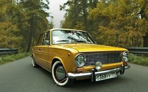 Picture retro, tuning, penny, classic, retro, front, classic, Lada, face, VAZ, 2101, old school, low, resto