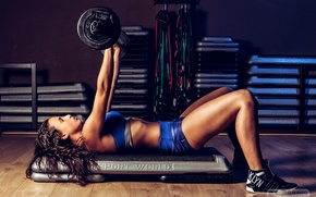 Picture pose, female, workout, fitness