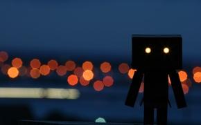 Wallpaper robot, Lights