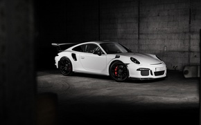 Picture 911, Porsche, white, Porsche, GT3, TechArt