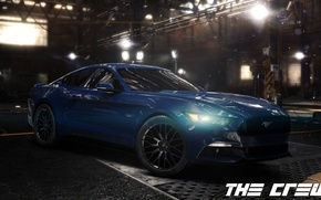Picture Ford, mustang, race, Ubisoft, 2014, The Crew, 2015, crew