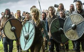 Picture warriors, Vikings, The Vikings, Katheryn Winnick, Lagertha