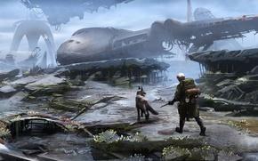 Wallpaper Art, Bethesda Softworks, Bethesda, Bethesda Game Studios, Fallout 4, The Art of Fallout 4