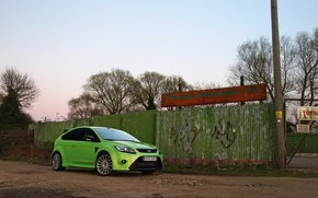 Picture Ford, Focus, Green, (Mk2)