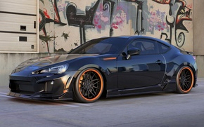 Picture graphics, Subaru, art, BRZ, dangeruss