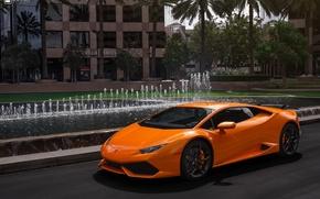 Picture Lamborghini, Vorsteiner, Wing, Huracan, Install