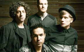 Picture music, Peter, Joe, Andrew, Patrick, FOB, fall out boy